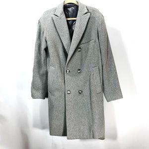 Gaelle wool long coat size 46